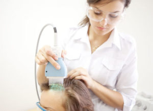 облучение кожи головы