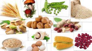 витамин В 3 в продуктах