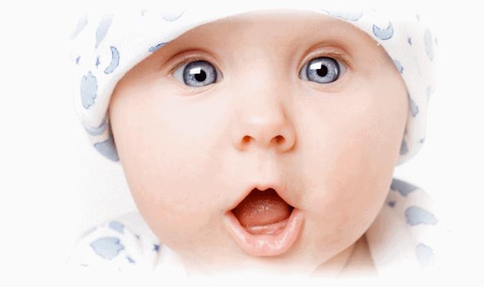 Удивленный ребенок