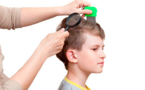 осмотр детской головы
