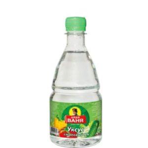 уксус в бутылочке