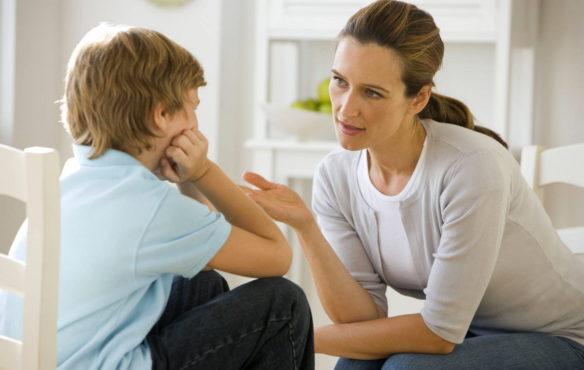 разговор ребенка и взрослого