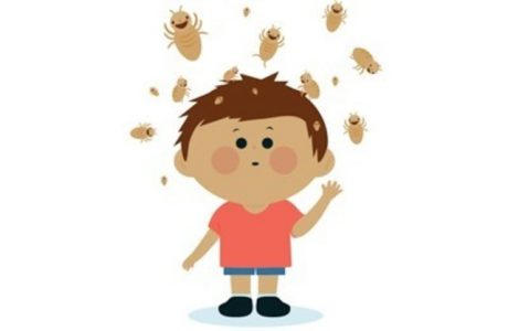 мальчик и разлетающиеся насекомые