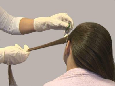 Вычесывание из волос