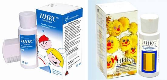 упаковки крема никс