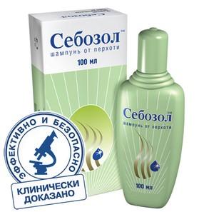 шампунь в зеленой упаковке