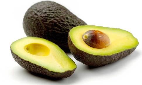 плод авокадо в разрезе